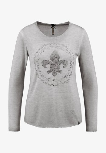 Long sleeved top - anthrazit