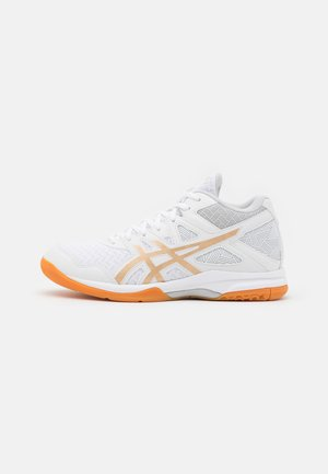 GEL TASK 2 MT - Handball shoes - white/champagne