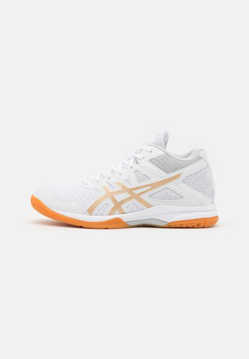 GEL TASK 2 MT - Handball shoes - white/champagne