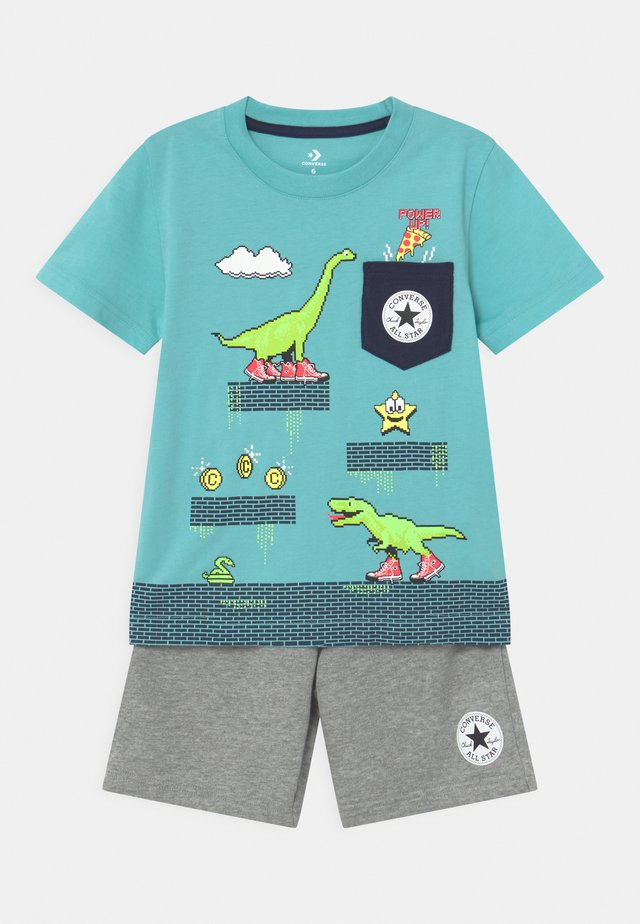 POCKET SET - Print T-shirt - grey heather