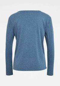 G-Star - CORE STRAIGHT - Long sleeved top - worn in kobalt htr - 1