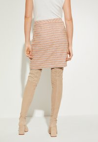 comma - A-line skirt - yellow - 2
