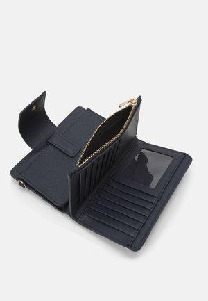 WALLET BASIC MIX FLOWER  - Peněženka - navy