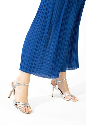 CIARA - High heeled sandals - silver
