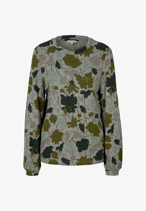 GEMUSTERTES  MIT BALLONÄRMELN - Blusa - floral design cosy fabric