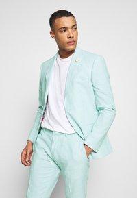 Isaac Dewhirst - PLAIN WEDDING - Oblek - mint - 2