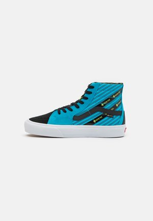UA SK8 GORE-TEX UNISEX - High-top trainers - hawaiian ocean/black