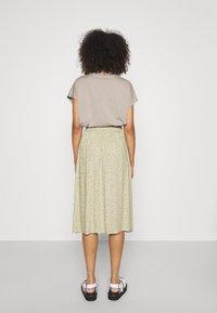 Monki - A-line skirt - beige - 2