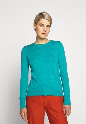 MARGOT CREWNECK - Sweter - turquoise