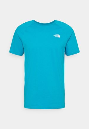 TEE - T-shirt con stampa - turquoise/white