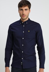 Lyle & Scott - REGULAR FIT  - Vapaa-ajan kauluspaita - dark blue - 0