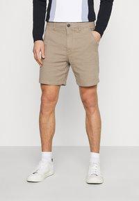 Selected Homme - SLHSTORM FLEX - Shorts - petrified oak/mix bungee - 0