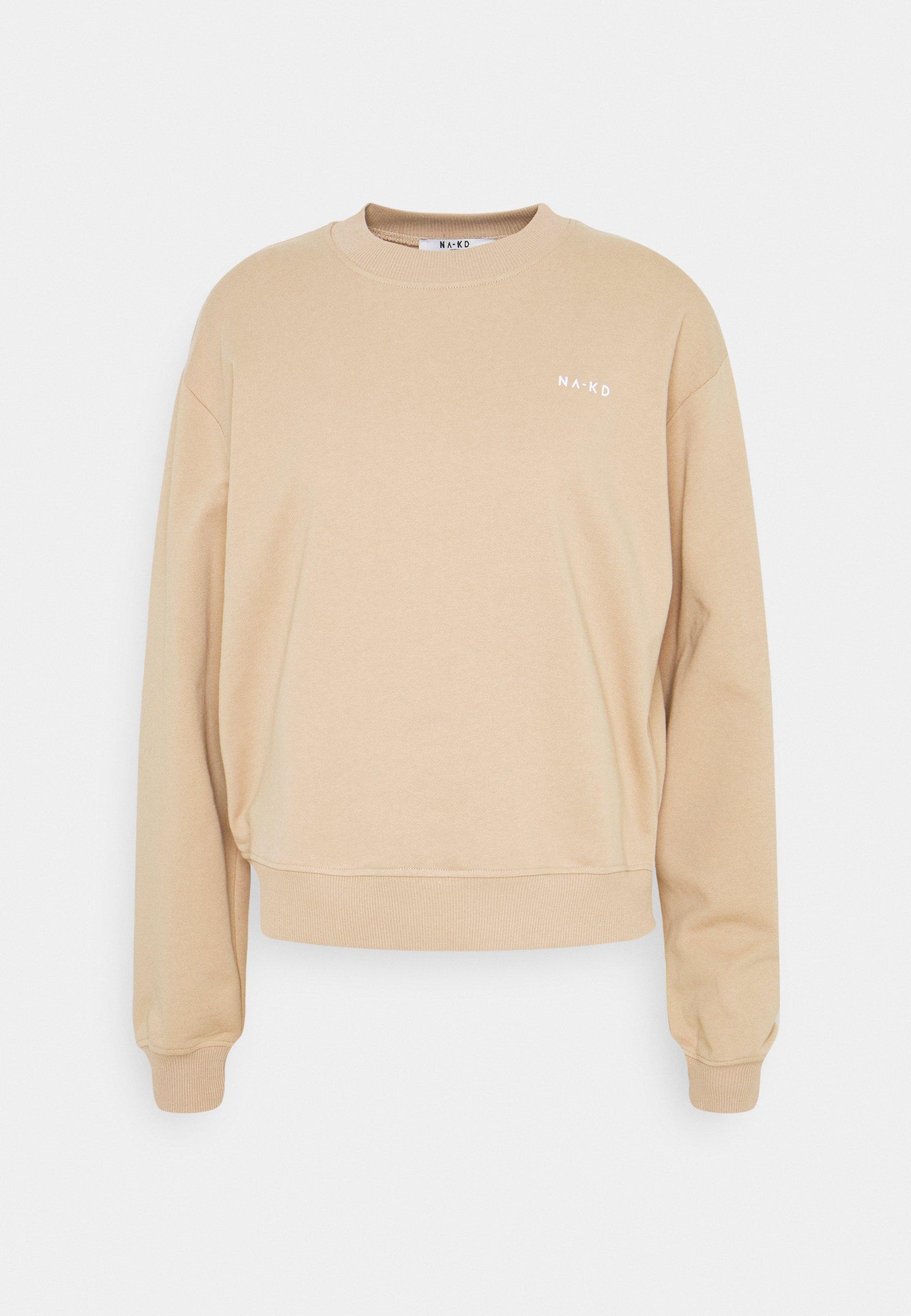 NA KD Logo Sweater Geel | na