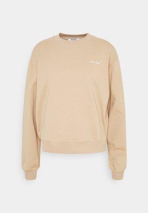 LOGO BASIC - Sweatshirt - beige