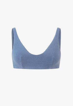Bikini top - blue
