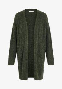 Pieces - Cardigan - dark green - 4