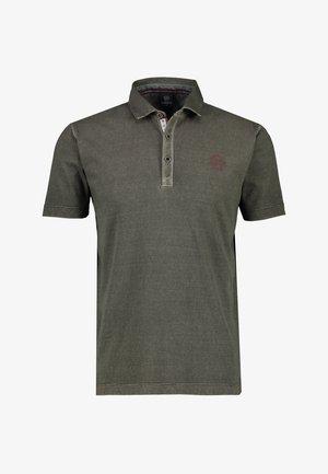 Polo shirt - mud grey