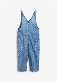 Next - LOOSE FIT - Jumpsuit - blue denim - 1