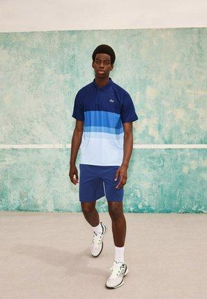 KORTE MOUW - Polo shirt - bleu