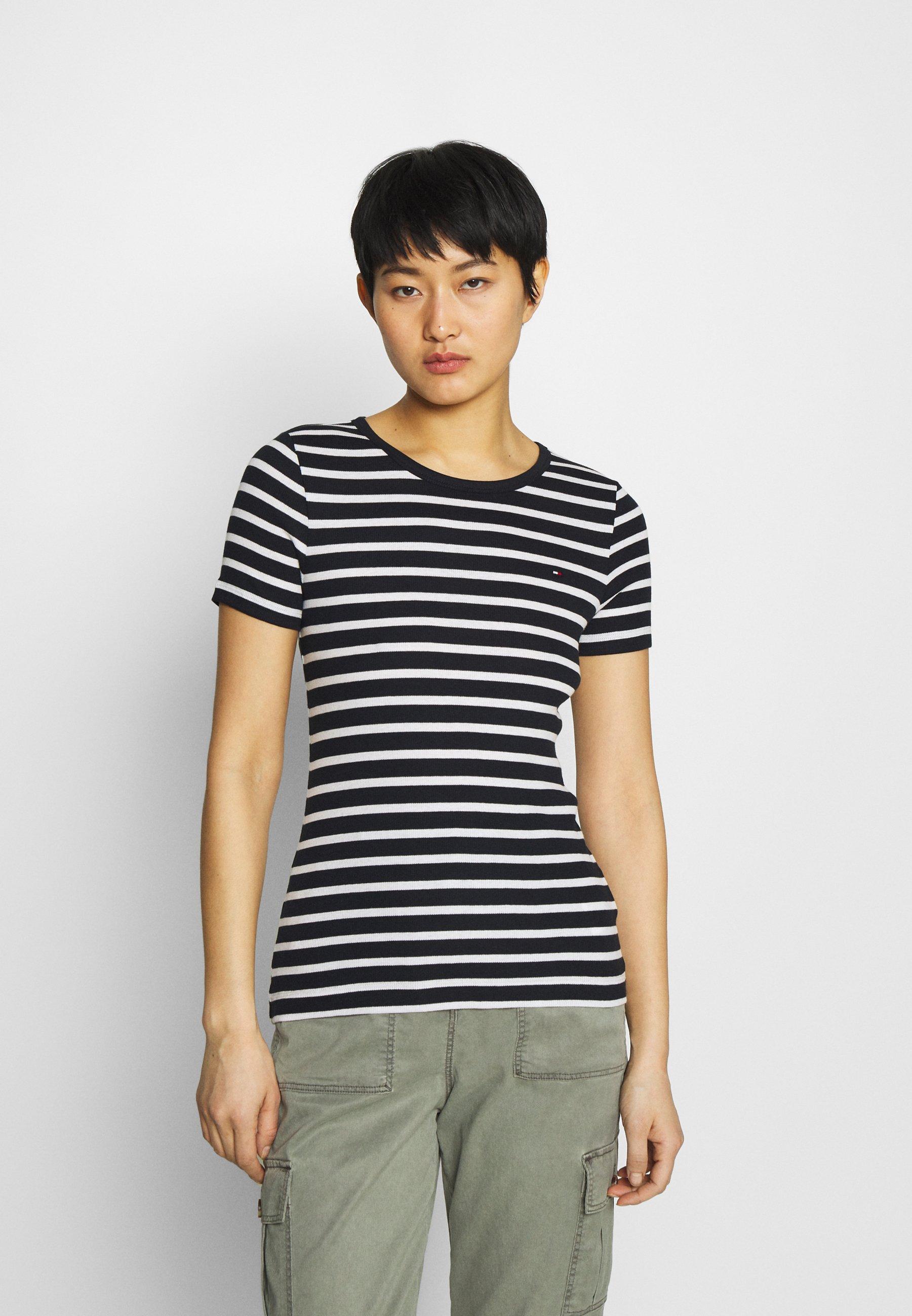 Women SKINNY OPEN - Print T-shirt