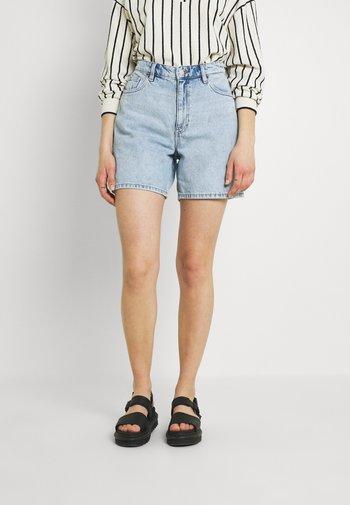 EMMA  - Shorts di jeans - blue dusty light/light blue
