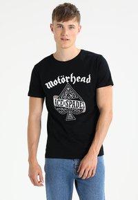Mister Tee - MOTÖRHEAD ACE OF SPADES - Print T-shirt - black - 0