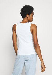 Weekday - CALYPSO CUT OUT TANK - Top - white - 2