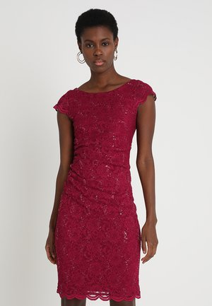 Cocktail dress / Party dress - bordeaux