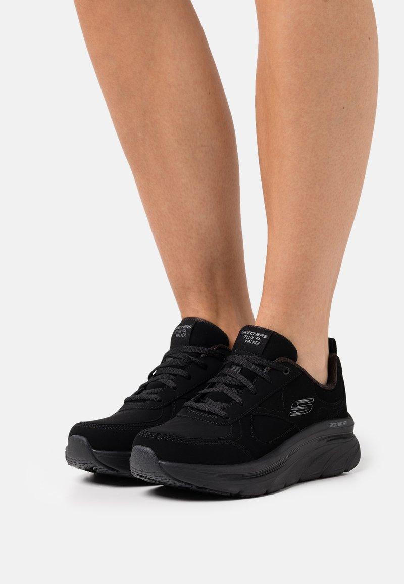 Skechers Sport - D'LUX WALKER - Sneakers laag - black
