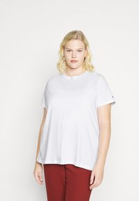 Tommy Hilfiger Curve - COOL TEE - Basic T-shirt - white - 0