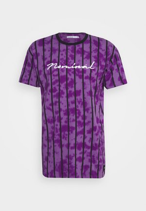 ALBA TEE - T-Shirt print - purple