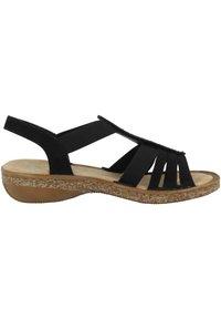 Rieker - Walking sandals - black - 4