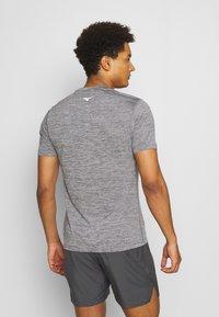 Mizuno - IMPULSE CORE TEE - T-Shirt basic - magnet - 2