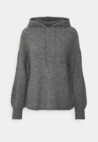 JDYSUNDAY HOOD - Hoodie - dark grey melange
