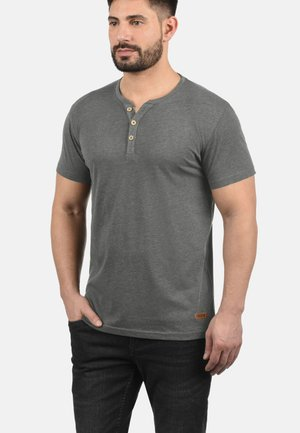 VOLKER - Basic T-shirt - grey melange