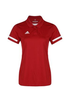 TEAM 19 POLOSHIRT DAMEN - T-shirt de sport - power red / white