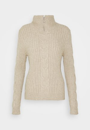 VIRIL - Jumper - natural melange