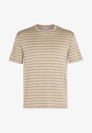 M UTILITY EXPLORE SS  - T-shirt print - flint