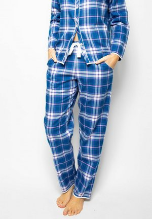 Pyjama bottoms - blue chks