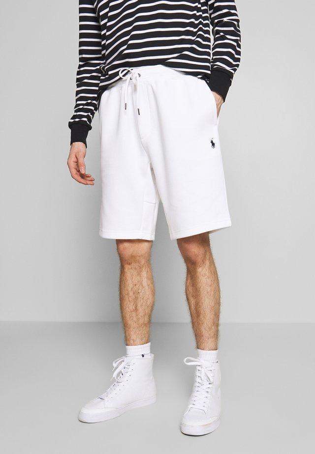 DOUBLE KNIT TECH-SHO - Shorts - white