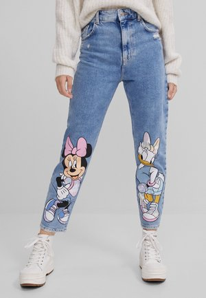 MINNIE  - Jeans Straight Leg - blue denim