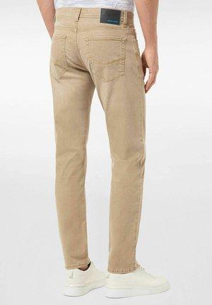 LYON  - Jeans Tapered Fit - braun