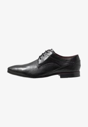 MORINO - Zapatos con cordones - black