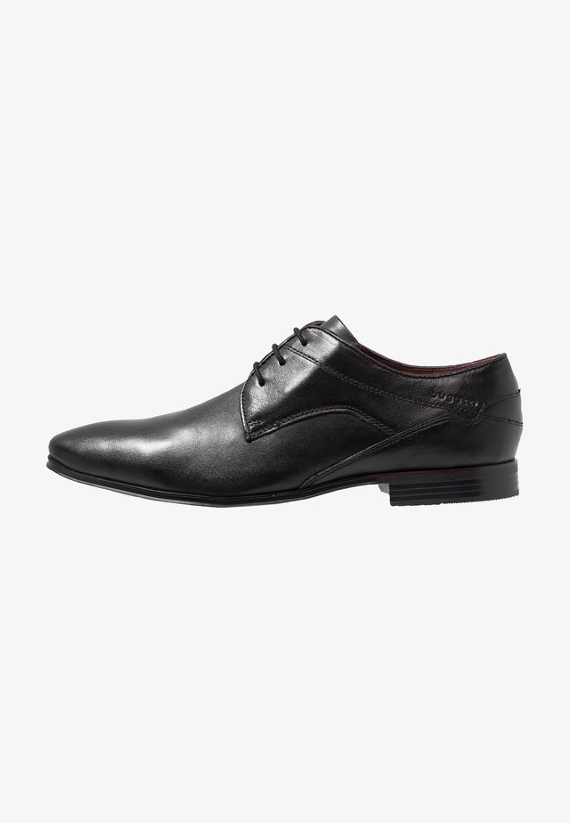 MORINO - Derbies & Richelieus - black