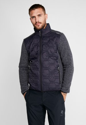 MAN JACKET HYBRID - Outdoorjacke - antracite