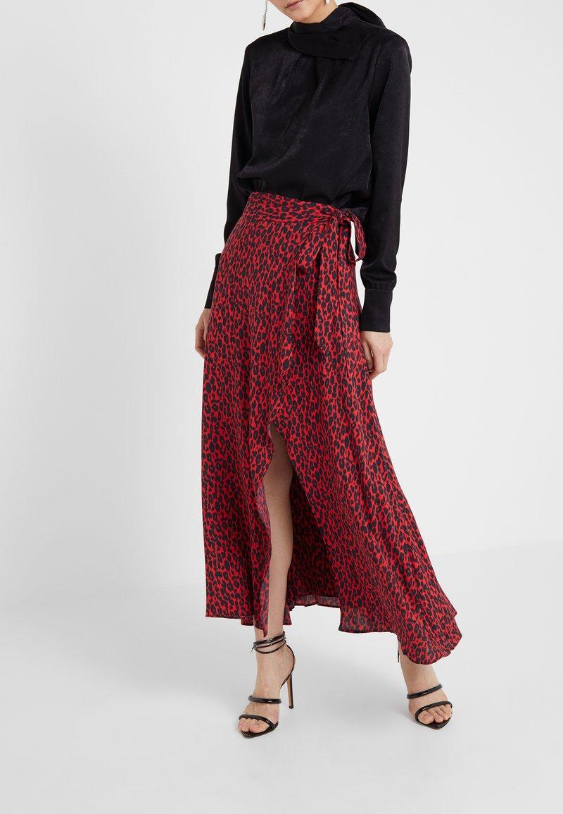 Iro - TANAKA - Maxi skirt - red