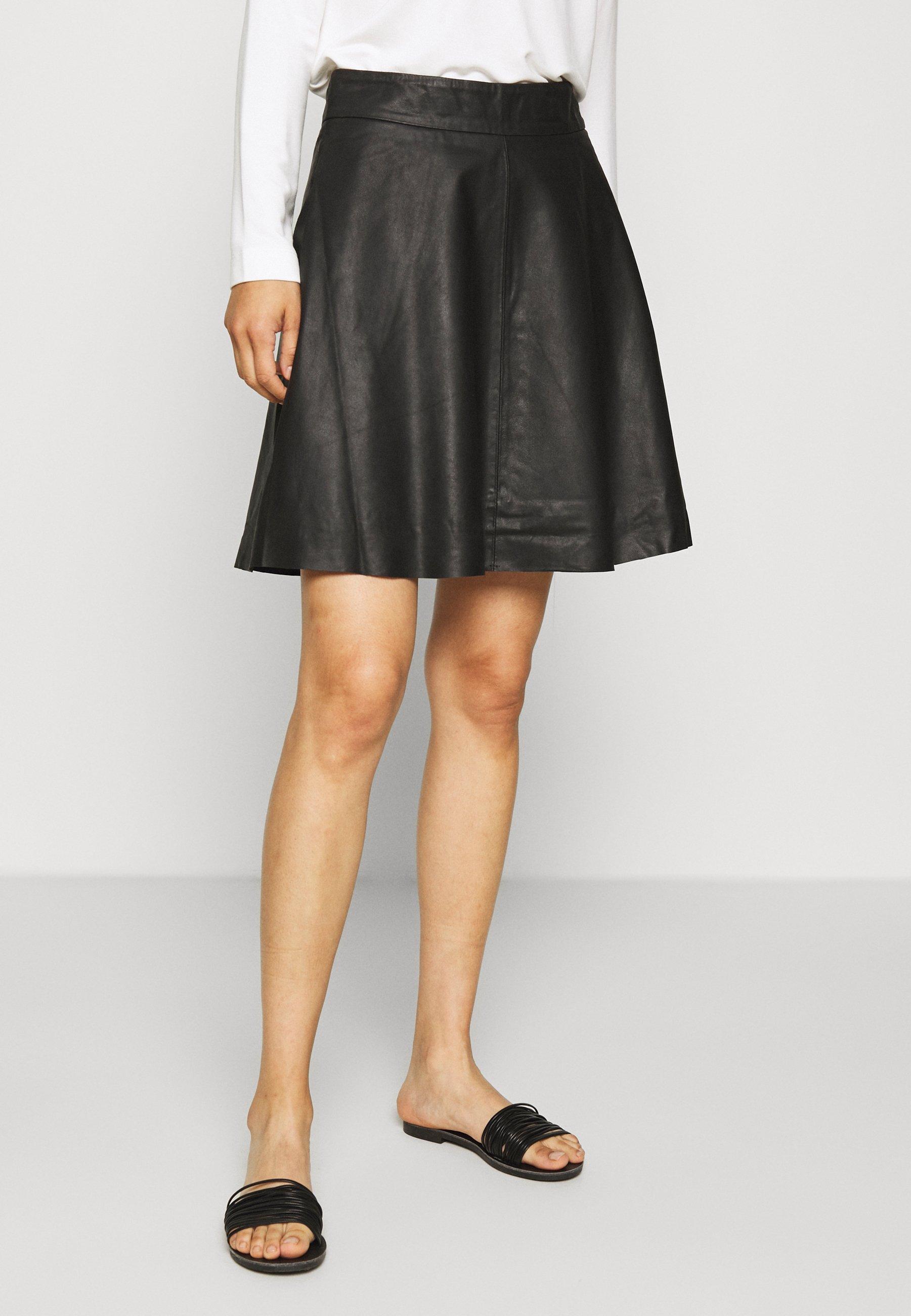 Shop For Women's Clothing Kaffe LEANN SKIRT A-line skirt black deep ZYsjQ2Mz1