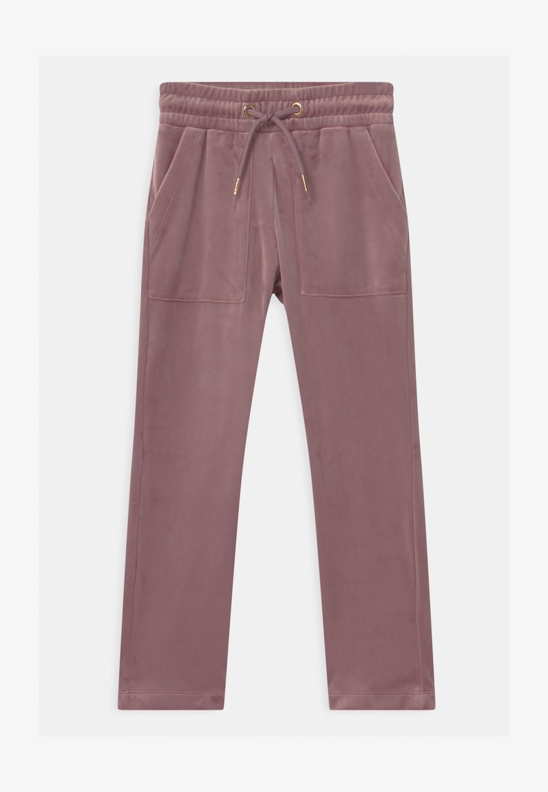Lindex - TEENS BIANCA - Tracksuit bottoms - dusty lilac
