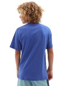 Vans - LOGO FILL  - Print T-shirt - blue - 1