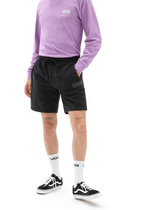 MN EASY WASH FLEECE SHORT - Shorts - black